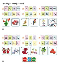 Czytanie Asd, Activities For Kids, Education, School, Children, Speech Language Therapy, Therapy, Polish, Young Children