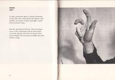 Bruno Munari, Speak Italian: The Fine Art Of The Gesture. A Supplement to the Italian Dictionary, 1963