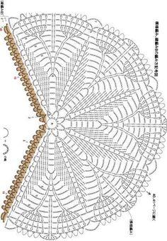 Exceptional Stitches Make a Crochet Hat Ideas. Extraordinary Stitches Make a Crochet Hat Ideas. Col Crochet, Crochet Bolero, Crochet Shawl Diagram, Poncho Au Crochet, Crochet Mandala Pattern, Crochet Shawls And Wraps, Crochet Circles, Crochet Collar, Crochet Chart