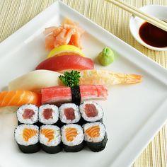 Unglaublich gutes Sushi aus unserer Sushibar