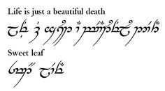 Learn to speak sindarin elvish alphabet