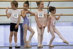 The Agony And Ecstasy Of A 6-Year-Old Auditioning For Ballet School at the School of American Ballet (New York).