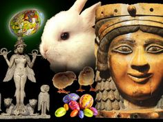 Easter is a day that is honered by nearly all of contemporary Christianity and is used to celebrate the resurrection of Jesus Christ.The holiday often involves a church service at sunrise, a feast which includes an Carthage, Menorah, Pagan Origins Of Easter, Easter Pagan, Origin Of Christianity, Feasts Of The Lord, Pagan Festivals, Babylon The Great, Jesus Resurrection
