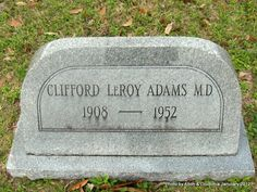 Dr Clifford LeRoy Adams, Jr