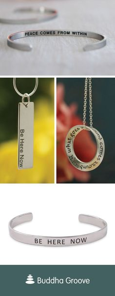 For more inspirational jewelry, visit BuddhaGroove.com