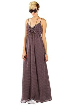 The Sugarlips Sugar Plum Dress is an abstract print maxi tank dress with a wrap front. Features a trim around the bust for a nice contrast. Stretch band at waist. Adjustable straps. Fully lined.  Price : $61.00 #MyLuluCloset #Sugarlips #NewArrivals