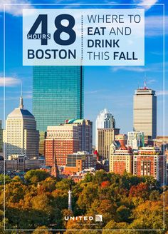 Weekend Getaway - Boston in the fall