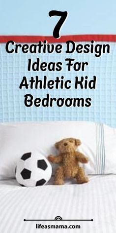 7 Creative Design Ideas For Athletic Kid Bedrooms