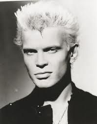 """""""William is idle."""" quote from Billy's elementary school teacher that helped him make his name Billy Idol. Yeah I read a biography on the guy!"""