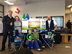 Congratulations to Toyota of Puyallup customer Jennifer Selander-Hull from Fife, the winner of Toyota of Puyallup's Seahawk Game-Day Challenge! Jennifer was randomly selected from hundreds of entries we received and took home a beautiful new HD television, Seahawks jerseys and some other game day items just in time for #SBXLVIII! #GoHawks