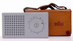 Braun T3 pocket radio Dieter Rams
