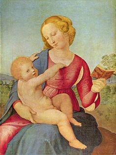 Raffaello Sanzio - Madonna Colonna