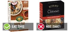 We combed through over 100 options to determine the best and worst instant oatmeal packets for your favorite types of instant oatmeal. Oatmeal Packets, Best Oatmeal, Brown Sugar, Eat, Breakfast, Healthy, Breakfast Cafe