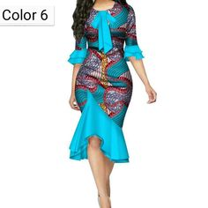 African print fashion dresses - Ankara Bazin Riche Bow Knot Patchwork African Dresses for – African print fashion dresses African Fashion Ankara, Latest African Fashion Dresses, African Print Fashion, Women's Fashion Dresses, African Women Fashion, Fashion Women, Short African Dresses, African Print Dresses, African Dress Designs
