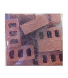 Bolsa 20 bloques miniatura cerámica. CUIT 3913. Medidas: 30mm x 15mm x 11mm