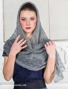 Ravelry: Summer Sprigs Lace Scarf pattern by Esther ...