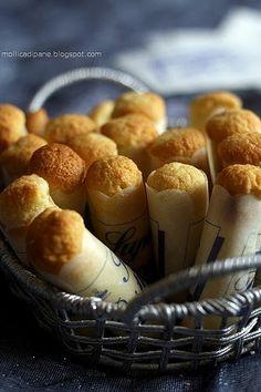 Ancora un'idea da buffet, anche questa volta presa su Gennarino : le cartucce. Queste cartucce le preparai appena tornata dal mar...