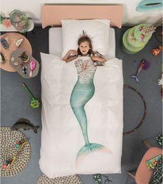 Parure de lit sirène