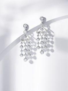 Jewelry Photography Diamonds~ Earrings