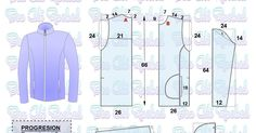 Blog de patronaje y diseño Blouse Patterns, Sewing Patterns, Camisa Floral, Modelista, Jacket Pattern, Couture, Learning, Coat, Mens Tops