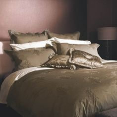 @Overstock - This yarn-dyed woven jacquard duvet cover set is made of 460 thread count combed supreme long staple cotton. This 3-piece comforter cover showcases a classic damask pattern with embroidered accents.  http://www.overstock.com/Bedding-Bath/Windsor-Latte-Queen-size-Duvet-Cover-Set/5395294/product.html?CID=214117 $94.19