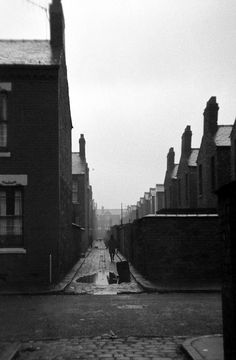 Moss Side, Manchester, 1969. | An alley in Moss Side, Manche… | Flickr