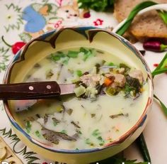 Served mainly and always at Easter time this traditional lamb soup is full of body and flavor. Meat and veg, with egg and cream try a traditional lamb soup. Scottish Recipes, Hungarian Recipes, Turkish Recipes, Ethnic Recipes, Romanian Recipes, Soup Recipes, Healthy Recipes, Healthy Food, Recipies
