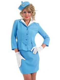Hi De Hi Campamento de vacaciones ayudante para mujer vestido elegante adultos host 1980s Traje de Disfraz