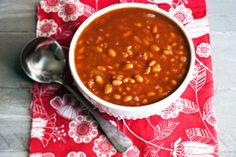 Easy slow-cooker root beer–baked beans