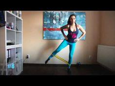 Cvičenie doma - zadok, nohy, stehná :) - YouTube