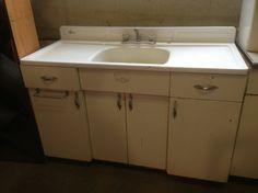 kitchensecondhand goods field trip the rebuilding center vintage kitchen sink base antique - Retro Kitchen Sink