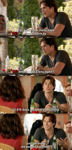 The Vampire Diaries TVD 7X01 - Damon and Bonnie