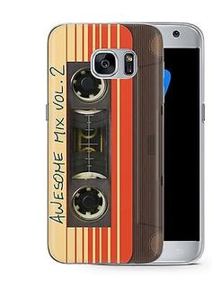 Guardians of the Galaxy Awsome Mix Vol 2 Phone Cover Case fits Samsung Galaxy S