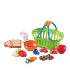This New Sprouts New Sprouts® Healthy Lunch Play Set by New Sprouts is perfect! #zulilyfinds