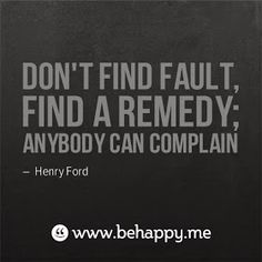 Don't be part of the problem and don't complain #Restorative #StrengthsFinder www.virtuouscoaching.co.za