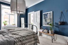 La Maison d'Anna G.: A blue bedroom