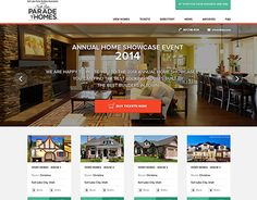 """Check out new work on my @Behance portfolio: """"Home Showcase Event Website design"""" http://on.be.net/ZmHx4F"""