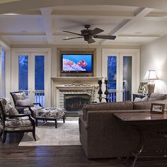 Frame Around Tv Design Ideas, Pictures, Remodel, and Decor - page 14
