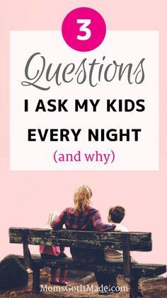 Top three questions I ask my children ranging in age from two to eight every night to start a meaningful conversation, #Parenting #DinnerConversation #FamilyTime