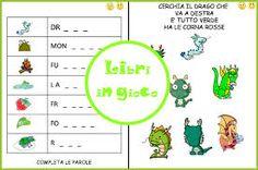 Risultati immagini per giochi in inglese per bambini delle elementari GIORNI