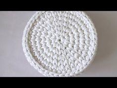 Идеальный круг крючком без шва . Вязание из трикотажной пряжи - YouTube