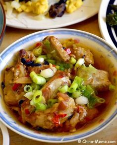 Chinese Steamed Spare Ribs. www.china-memo.com #recipe #homecooking