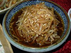 Vinegared Bean Sprouts