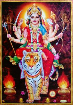 Maa Chandi is the total energy of the universe. By doing Chandi Homam once a year one can become free from evil eyes and get supremacy power to fulfill all desire. Maa Image, Maa Durga Image, Image Hd, Durga Maa Paintings, Durga Painting, Madhubani Painting, Lord Durga, Durga Ji, Lord Shiva