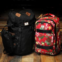 Vans Backpacks // hiker and aloha skate