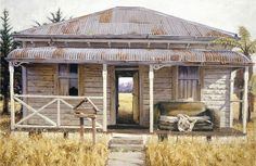 Interior Landscape II by Barry Ross Smith - imagevault.co.nz