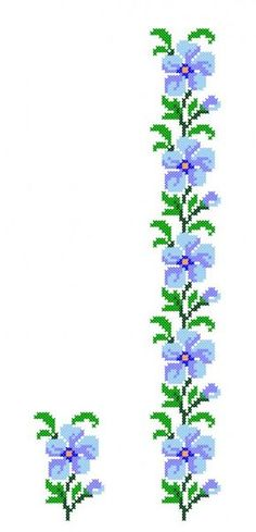 This Pin was discovered by bin Cross Stitch Bird, Cross Stitch Borders, Cross Stitch Alphabet, Cross Stitch Flowers, Cross Stitch Designs, Cross Stitching, Cross Stitch Embroidery, Cross Stitch Patterns, Embroidery Alphabet