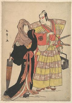 Scene from a Drama Katsukawa Shunshô (Japanese, 1726–1792) Period: Edo period (1615–1868) Date: ca. 1778 Culture: Japan Medium: Polychrome woodblock print; ink and color on paper