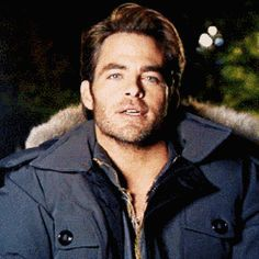 That time the cold never bothered him anyway. | Community Post: 13 Times Chris Pine's Chest Game Was Out Of Control