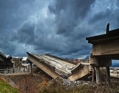 Overpass Destruction By Christopher M.